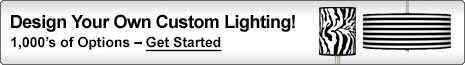 Design Your Own Custom Lighting