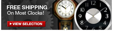 Decorative Clocks - Get Free Shipping!