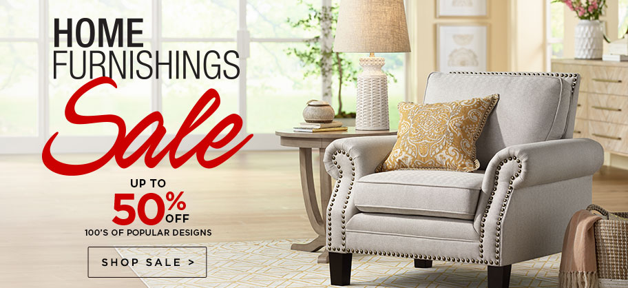 Home Furnishings Sale - Up to 50% Off - Discounts on our most popular fixtures