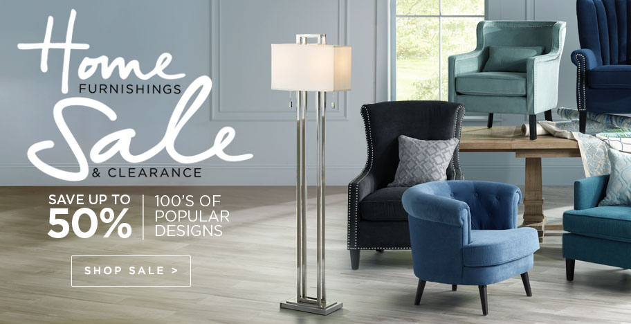 Home Furnishings Sale Up to 50% Off - Discounts on on 100s of Popular Home Accents