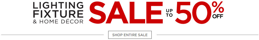 Lamps Plus Sale - Lighting Fixture and Home Decor - Discount Prices Up to 50% Off