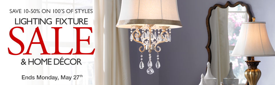 Annual Lighting Fixtures and Home Decor Sale - Lamps Plus Sale Events