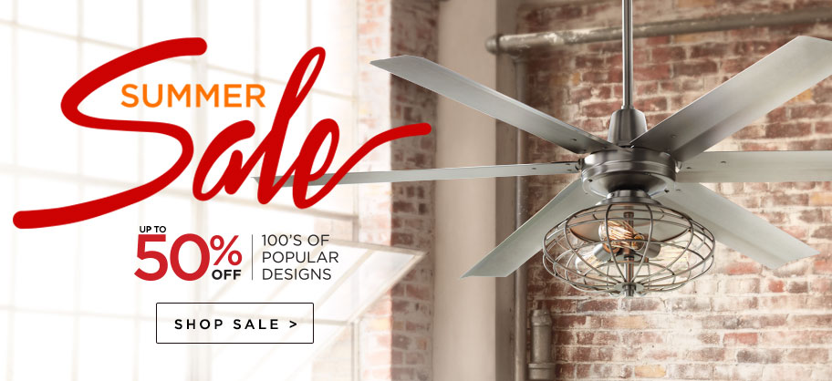 Summer Sale - Up to 50% Off - Discounts on our most popular fixtures
