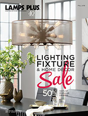 Lighting Fixture and Home Decor Sale Catalog