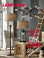 Lamps Plus Half Price Days & Sale Catalog - Modern