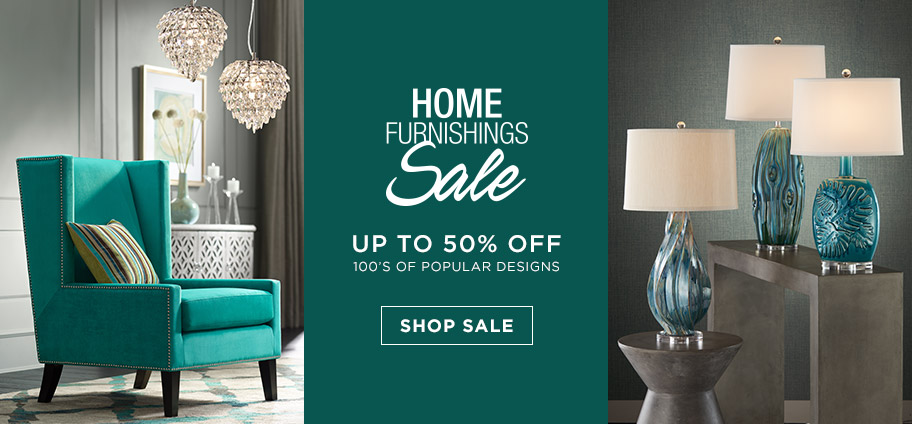 Home Furnishings Sale – Up to 50% off