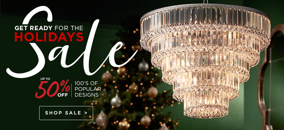 Get Ready for the Holidays Sale - Up to 50% Off - Discounts on our most popular fixtures