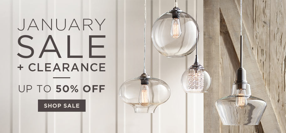 January Sale + Clearance – Up to 50% off
