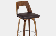 Mid-Century Bar Height Stools