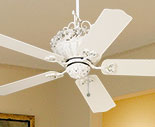 Pull Chain Ceiling Fans without Lights