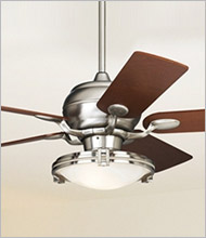 Ceiling Fans - Designer Looks, New Ceiling Fan Designs | Lamps Plus