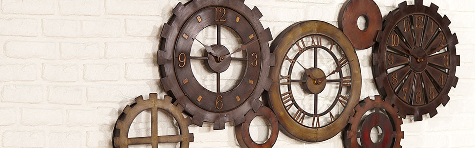 Form And Function Combine In Our Decorative Wall Clocks Or Choose Versatile  Desk Tabletop