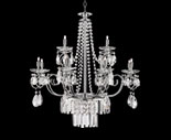 Chrome Crystal Chandelier Designs