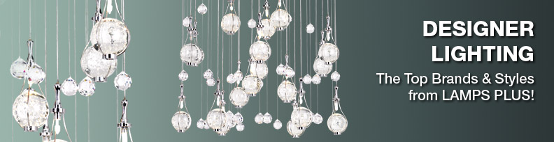 Designer Lighting - The Top Brands and Styles from LAMPS PLUS