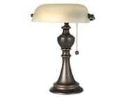 Banker and Piano Lamps