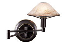 Bronze Direct Wire Wall Lamps