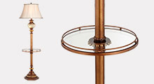 Floor Lamps With Tray Table Lamps Plus - Floor lamps with tables