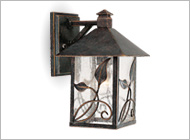 Franklin Iron Works Outdoor Lighting