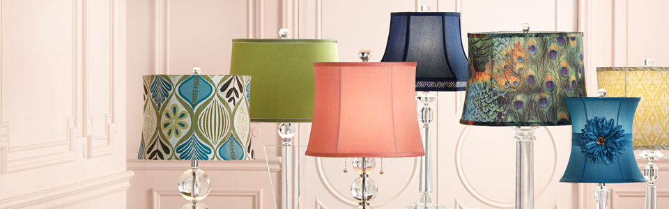 Lamp Shades for Table Lamps and More - Decorate with a Fresh New Look