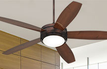 Large Ceiling Fans with Lights