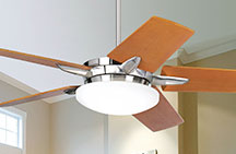 48 to 58 inch Ceiling Fans with Light Kit