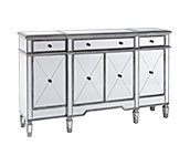 Mirrored Buffet Furniture