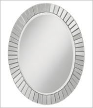 Wall Mirrors and Decorative Bathroom Mirrors - Round, Oval, Makeup ...
