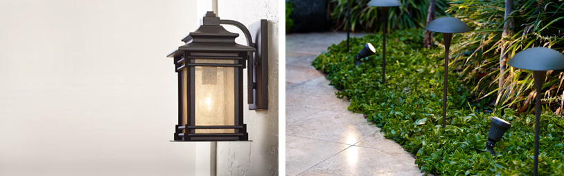 Outdoor Fixtures Lighting: Outdoor Lighting - Bright Looks for the Porch, Patio & Exterior Areas,Lighting