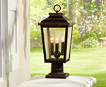 Transitional Post Lights