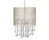 Transitional Plug-In Chandeliers