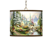 Country Cottage Plug-In Pendant Lighting