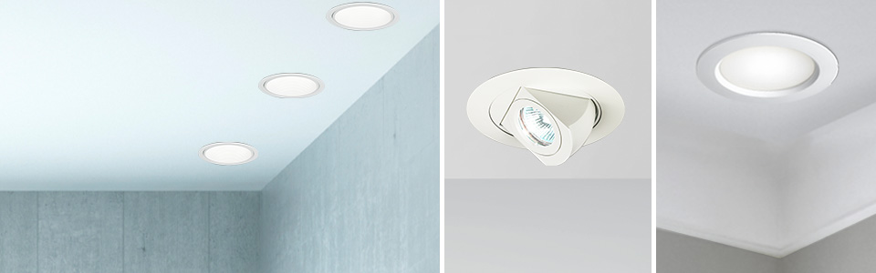 Recessed Lighting Trim Housing Fixtures Led Recessed