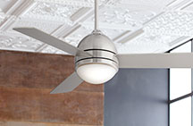 Small Ceiling Fan with Light Kit