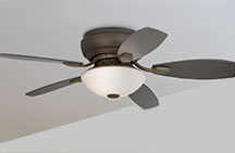 Small Flush Mount Ceiling Fans