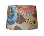 printed & patterned lamp shades