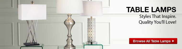 Table Lamps for Bedroom and Living Room