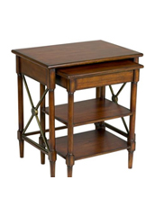 Traditional and Contemporary Nesting Tables