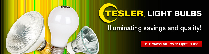 Tesler Light Bulbs - Illuminating savings and quality!