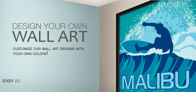 Design Your Own Wall Art - Step 1