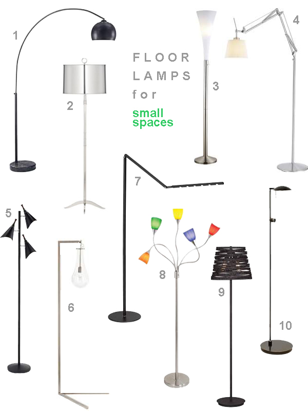 10 floor lamps for small spaces ideas advice lamps plus a selection of 10 floor lamps for small spaces aloadofball Gallery