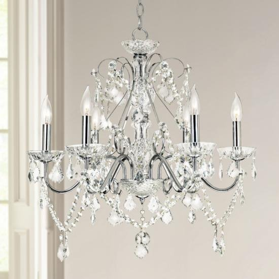 A Guide To Crystal Chandelier Glass Ideas Advice Lamps Plus - Long chandelier crystals