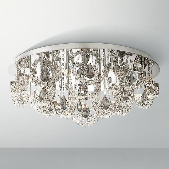 A guide to crystal chandelier glass ideas advice lamps plus a contemporary ceiling light with k9 crystal mozeypictures Images
