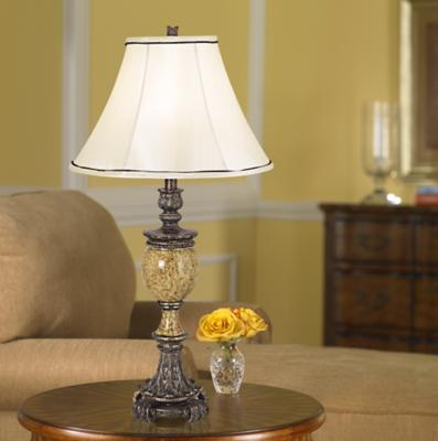 A Traditional Bell Shape Lamp Shade