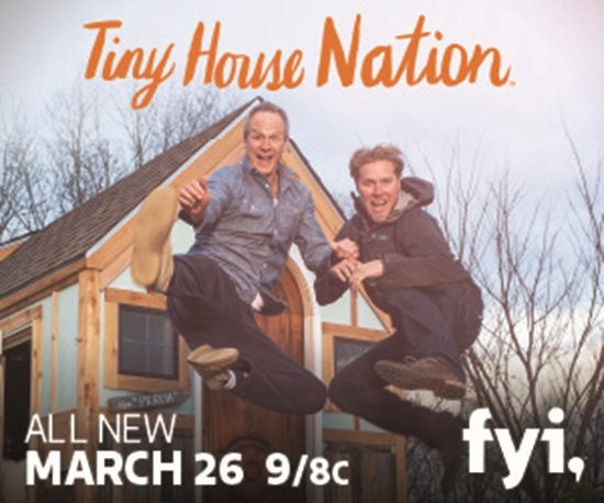 Tiny House Nation featuring John Weisbarth and Zack Giffin.