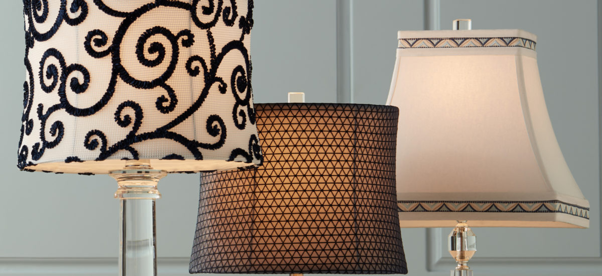 Image of various lamp shades