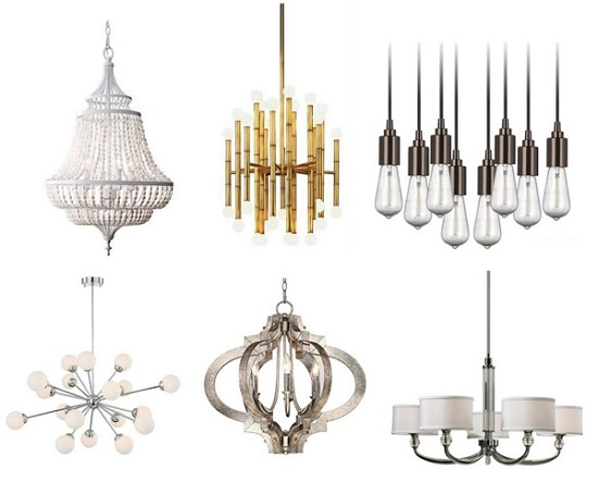Contemporary And Traditional Chandeliers At Lamps Plus
