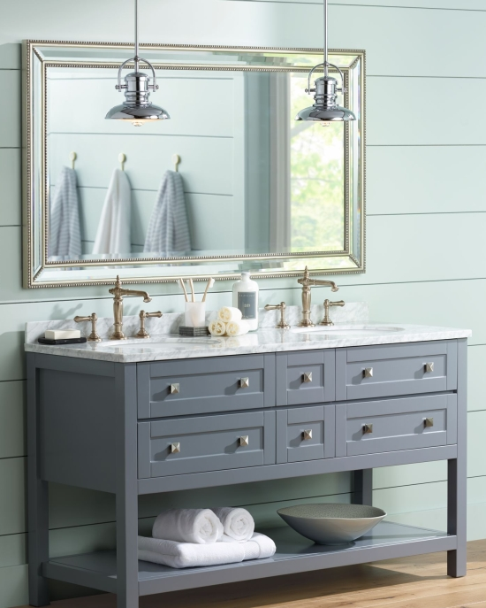 Lighting Up The Bathroom With Vanity