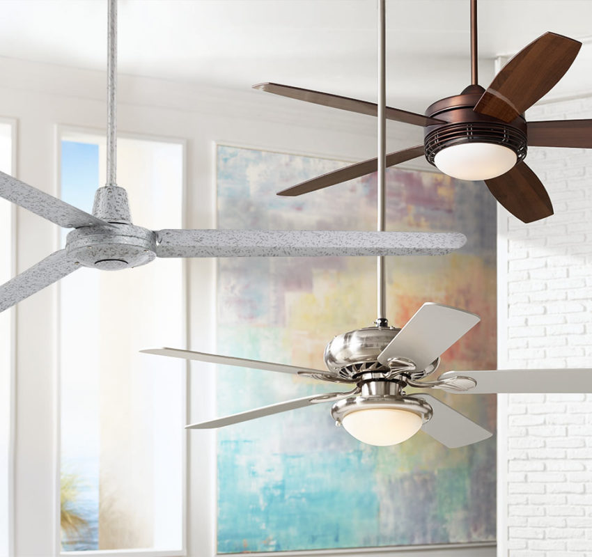 Image of 3 ceiling fans