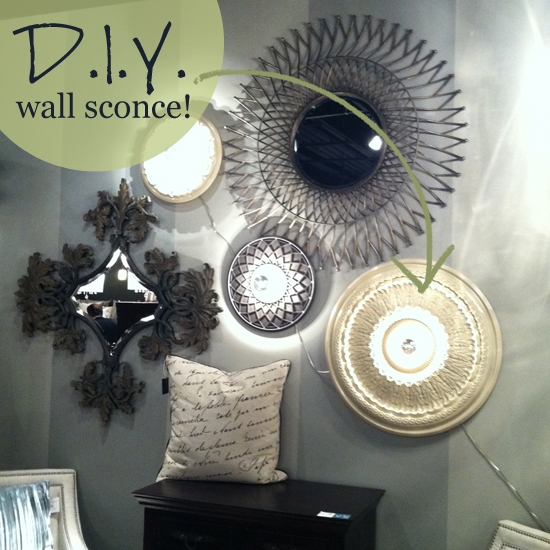 Three creative DIY wall sconce designs. & DIY Wall Lighting Idea - Ideas u0026 Advice | Lamps Plus