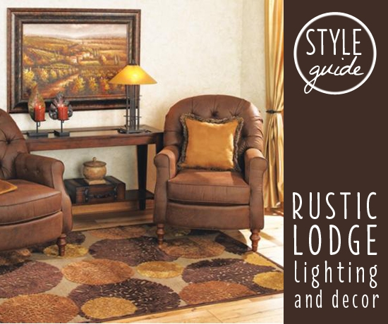 style guide rustic lodge lighting and decor ideas advice